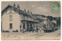 CPA - SUISSE - CHEXBRES (Vaud) - La Gare - VD Vaud