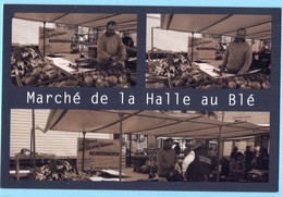 CPM 18 BOURGES Marché De La Halle Au Blé ( Tirage Limité) - Bourges