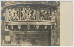 C.P.  PICCOLA   PRATO   PULPITO  ESTERNO IN  MARMO  DELLA  CATTEDRALE  (DONATELLO E  MUCHELOZZO)        (NUOVA) - Prato