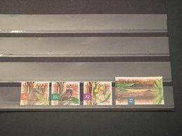 AUSTRALIA - 1996 FAUNA/FIORI 4 VALORI - NUOVI(++) - 1990-99 Elizabeth II