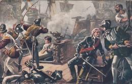 "Sir Richard Grenville In The ""REVENGE"" , 00-10s ; TUCK 9132 - Other Wars"