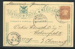 Mexique - Entier Postal De Mazatlan Pour L 'Allemagne En 1895 -  Réf M53 - Mexico