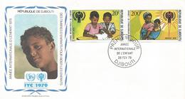 Djibouti 1979 International Child Year ICY FDC Cover - Djibouti (1977-...)