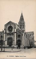Nîmes Eglise Saint-Paul - Nîmes