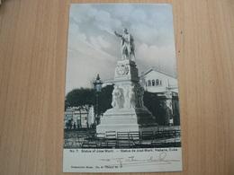 CP19/ CUBA HABANA STATUE OF JOSE MARTI  / VOYAGEE / 2 SCANS - Cartoline