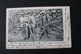 Charbonnage Belge : Mineurs, Cachet Postal D'Enghien 1903 - Mines