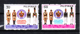 Filippine  -  1980. Accademia Militare: Uniformi. Military Academy: Uniforms.. Complete MNH Series - Militaria