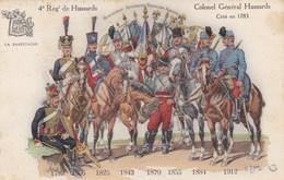 Colonel Général Hussard Créé En 1783- Régt De Hussards - Regimenten