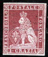 Toscana 1851 Sass.4 O/Used VF/F - Tuscany