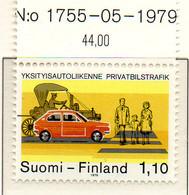 PIA - FINLANDIA - 1979 - Automobilismo Privato  - (Yv 813) - Automobili