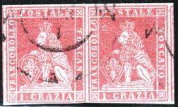 Toscana 1851 Sass.4 Coppia O/Used VF/F - Tuscany
