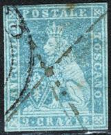 Toscana 1851 Sass.5a O/Used VF/F - Toscana