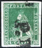 Toscana 1851 Sass.6 O/Used VF/F - Tuscany