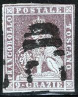 Toscana 1851 Sass.8 O/Used VF/F - Tuscany