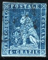 Toscana 1851 Sass.7a O/Used VF/F - Tuscany