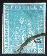 Toscana 1857 Sass.13 O/Used F - Tuscany