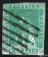 Toscana 1857 Sass.14 O/Used VF/FF - Tuscany