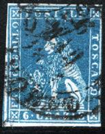Toscana 1857 Sass.15 O/Used VF/FF - Tuscany