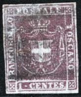 Toscana 1860 Governo Provvisorio Sass.17 O/Used VF/FF - Toscane