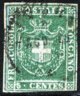 Toscana 1860 Governo Provvisorio Sass.18 O/Used VF/FF - Tuscany
