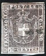 Toscana 1860 Governo Provvisorio Sass.19 O/Used VF/FF - Tuscany