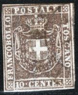 Toscana 1860 Governo Provvisorio Sass.19 O/Used VF/FF - Toscane