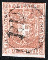 Toscana 1860 Governo Provvisorio Sass.22 O/Used VF/FF - Tuscany