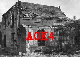 02 Aisne ANIZY LE CHATEAU Ruine Cafe Restaurant Estaminet Occupation Allemande - Oorlog, Militair