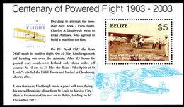 Belize 2003 Manned Flight Souvenier Sheet Unmounted Mint. - Belize (1973-...)
