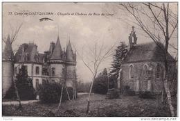 F6- 56) CAMP DE COETQUIDAN - CHAPELLE ET CHATEAU DU BOIS DU LOUP  - (2 SCANS) - Guer Coetquidan