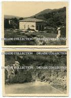 6 FOTOGRAFIE ORIGINALI TERME ROSAPEPE CONTURSI SALERNO 20 GIUGNO ANNO 1938 - Lieux