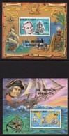 Djibouti 1983, Cook, Ships, Indigenus, Ovp. 2nd Royal Marriage, 2BF - Explorers