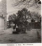 AK-1799/ Zara Zadar Die 5 Brunnen Kroatien Foto Stereofoto 1906 - Stereoscopic