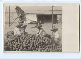 S1974/ Guadalajara  Mexico Foto AK 1911 Apfelsinenhändler - Postcards