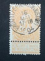 COB N ° 65 Oblitération Bruxelles (Palais De Justice) 1904 - 1893-1900 Fine Barbe
