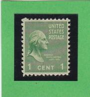 Etats-Unis  N° 369  -  1938 -  G. WASHINGTON  - Neuf XX - Nuovi