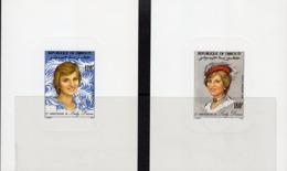 Djibouti 1982, Diana Birthday, 2BF Deluxe - Royalties, Royals