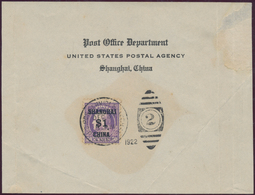 China - Fremde Postanstalten / Foreign Offices: 1901-22, US POST IN CHINA : Complete Set Of Scott K1 - China