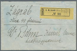 China - Fremde Postanstalten / Foreign Offices: 1910, Austria-Hungarian P.O.China: Hungary, 10 F Ros - China