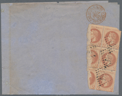 China - Fremde Postanstalten / Foreign Offices: French Offices, 1867. News-Band Wrapper Written From - China