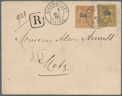 """China - Fremde Postanstalten / Foreign Offices: French Offices, 1900, Type Sage Ovpt. """"Chine"""" 20 C., - China"""
