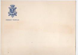 (bateaux) Carte à Entête CROISEUR TOURVILLE   (vierge)  (PPP18448) - Vieux Papiers