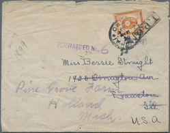 China - Fremde Postanstalten / Foreign Offices: 1899, Letter Franked With 10 Sen Koban Tied By SHANG - China