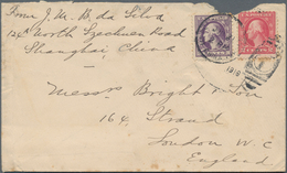 China - Fremde Postanstalten / Foreign Offices: 1901-19, US POST IN CHINA : Cover Bearing G. Washing - China