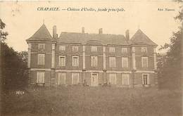 - Saône Et Loire -ref-A853- Chapaize - Chateau D Uxelles - Façade Principale - Carte Bon Etat - - Frankrijk