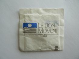 1 Sachet De Sucre Vide, Le BON MOMENT Par WAGONS LITS, Béghin Say, Sucre Poudre, TB. - Sucres