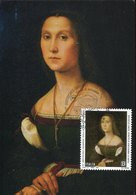 45137 Italia,l Maximum 2019, Painting Of Raffel Raphael Portrait Of Woman - Arte