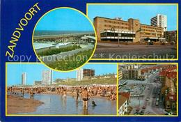 73155723 Zandvoort Holland Panorama Casino Strand Strassenpartie - Pays-Bas