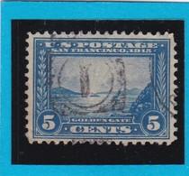 Etats-Unis  N° 197  -  1912-15 -   LA PORTE D'OR à SAN FRANCISCO  - Oblitéré - United States