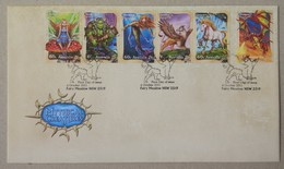 Australia 2011. Mythical Creates. FDC (Stamp Set) - Primo Giorno D'emissione (FDC)